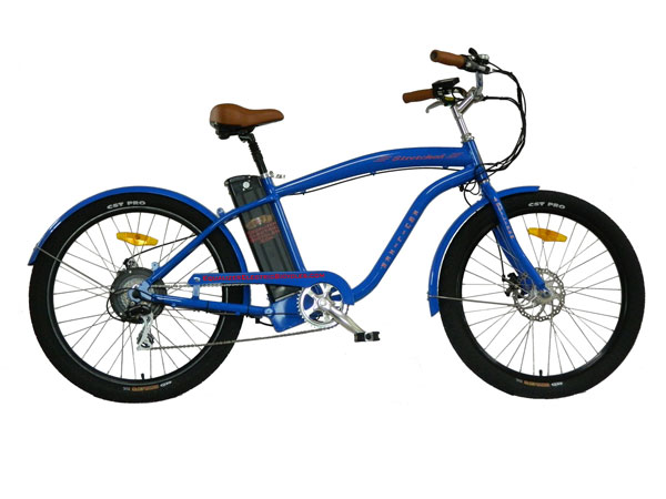 Equalizer Electric Bicycles Stretched Electric Beach Cruiser
