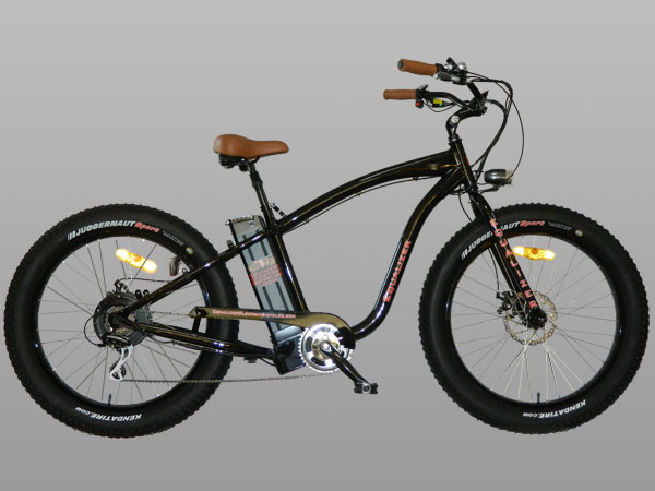 Equalizer Electric Bicycles - Electric Fat Tire Bike