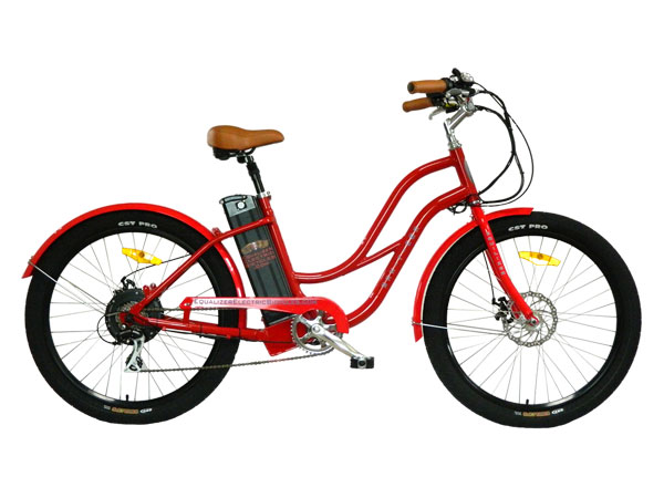 Equalizer Electric Bicycles Stretched Electric Step Thru